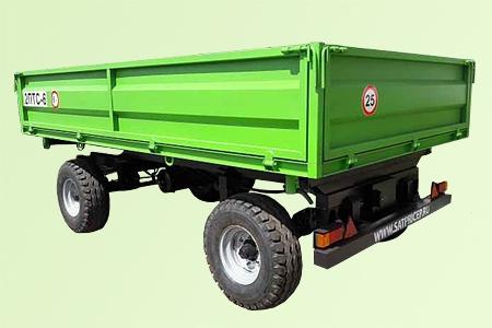 Прицеп самосвальный тракторный 2ПТС-6, цена в Самаре
