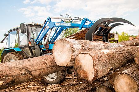 Вилы для леса с прижимом, цена в Самаре