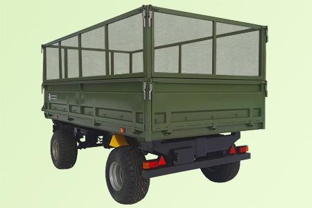 Прицеп самосвальный тракторный 2ПТС-7
