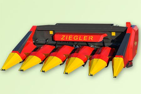 Жатка для уборки кукурузы Ziegler CORN CHAMPION фиксированная, цена в Самаре