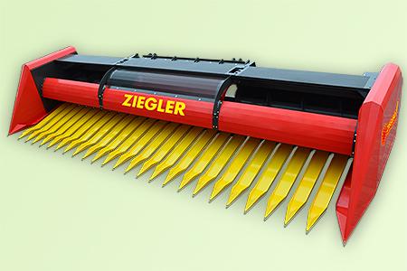 Жатка для уборки подсолнечника Ziegler Sunflower Champion сплошного среза, цена в Самаре