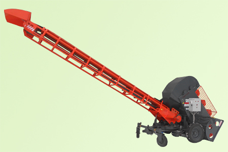 Погрузчик ковшовый шнековый Р6 КШП-6УМ