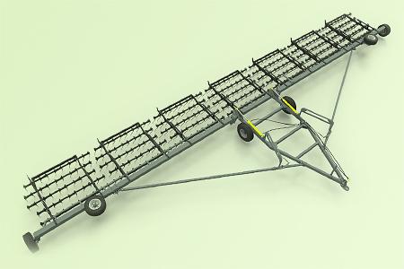 Борона пружинная гидрофицированная прицепная БПГП