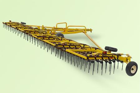 Тяжелая зубовая борона Strawmaster